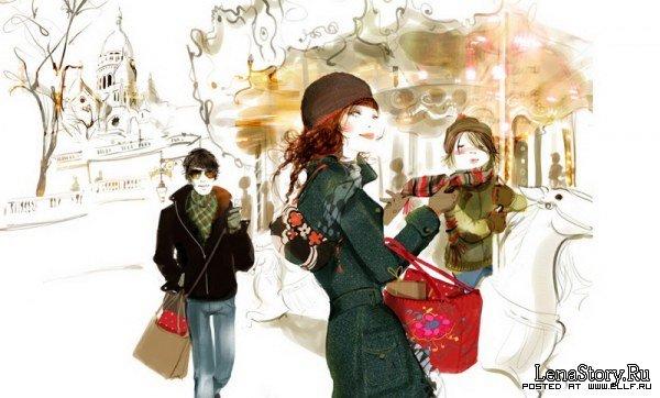 Французские девушки от Софи Гриотто