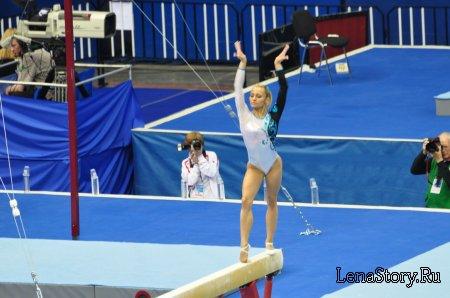 Соревнования по спортивной гимнастике. Кубок мира