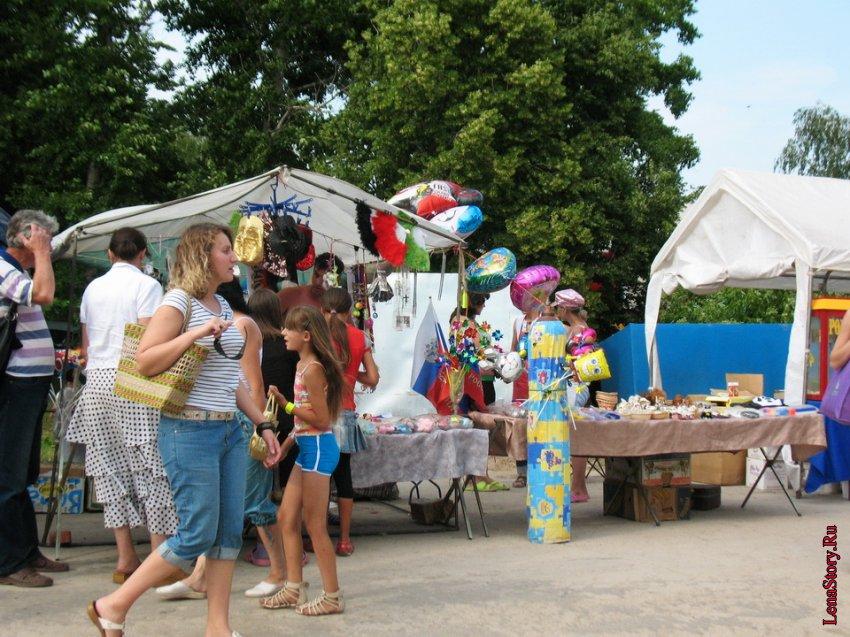Праздник в селе Крапивна