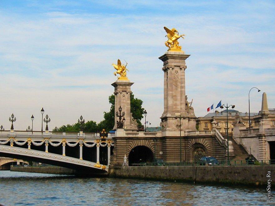 Париж. Прогулка по Монмартру. Набережные Сены